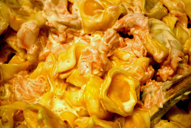 Tortellini Ham and Cream
