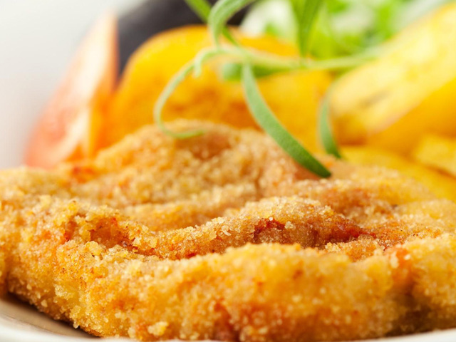 Breaded Veal Steak